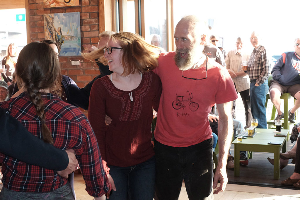 Dancers at Four Mile Portage @ Bent Paddle Brewing Co.